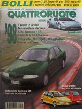Quattroruote 507 1998 SuperDiablo - Alfa Romeo 166 - Nuova Punto    [Q48]