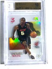 2003 Fleer E-X Basketball Dwyane Wade ROOKIE RC #90 Bgs 10 Pristine Psa 10 9.5