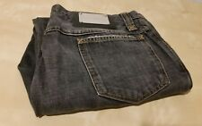 Mens Boys Dolce & Gabbana Jeans Black Dark Grey W34 L32 Made in Italy