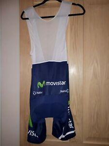 NALINI MOVISTAR Cycling Bib Shorts L/4 VGC