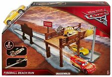 Disney Pixar Cars 3 Lightning McQueen Fireball Beach Run Play Ages 4+ Toy Race