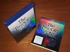 THE TWILIGHT ZONE Season 1 5disc Blu-ray US import region a (rare OOP slipcover)
