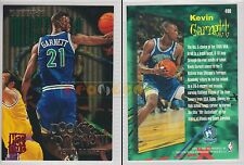 NBA FLEER 1995-1996 SERIES 2 - Kevin Garnett, Timberwolves # 490 - Near Mint