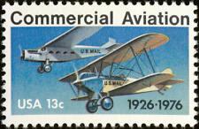 1976 13c Commercial Aviation, 50th Anniversary Scott 1684 Mint F/VF NH