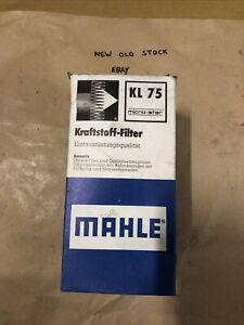 MAHLE VW Caravelle T4 1V  Fuel Filter 2.4D 2.5TDi  1990-2003 Genuine Mahle KL75