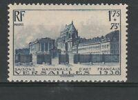 FRANCOBOLLI - 1938 FRANCIA C.1,75+75 ARTE MNH E/2340
