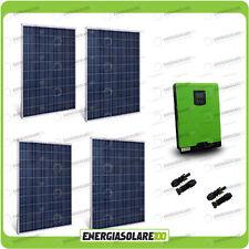 Kit solaire photovoltaique maison 1KW panneau Convertisseur pur sinus 4000W 48V
