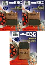 EBC HH Front + Rear Brake Pads (3 Sets) 2002-2005 Kawasaki ZZR1200