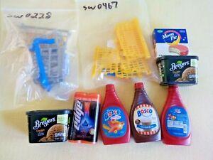 Zuru Suprise Mini Brands Lot Shopping Cart Basket Bosco Bryers Moon Pie Edge