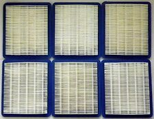 6 x Air filter to suit Briggs and Stratton Quantum and Honda GCV engines +++