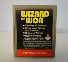 WIZARD OF WOR - Tested Working Atari 2600 Game Cartridge #0412