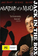 Anatomy Of A Murder DVD NEW, FREE POSTAGE WITHIN AUSTRALIA REGION ALL