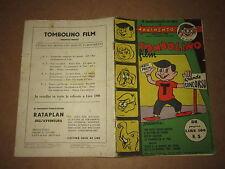 TOMBOLINO FILM ANNO I° N°5 OTTOBRE 1954