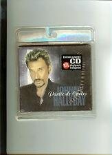 JOHNNY HALLYDAY-Partie de cartes-CD Digipack transparent-SOUS BLISTER SCELLE-