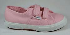 Superga Girls Jvel Classic Casual Pink Canvas Trainers UK 2.5 EU 35 US 3.5 2750
