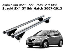Aluminium Roof Rack Cross Bars fits Suzuki SX4 GY Hatch 2007-2013