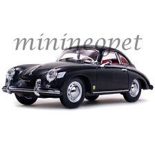 SUN STAR 1328 1957 PORSCHE 365A 1500 GS CARRERA GT 1/18 DIECAST MODEL CAR BLACK
