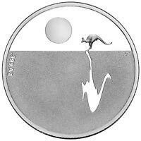 2012 Australia Kangaroo at Sunset $1 Silver Proof Coin, 6.03gm