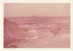 AMERICAN LANDSCAPE Terrain FOUND PHOTOGRAPH West WESTERN Color VINTAGE 09 6 X