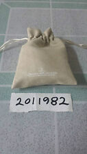 Jaeger LeCoultre Watch Customer Service Beige Suede Watch Pouch for storage
