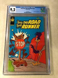 BEEP BEEP THE ROAD RUNNER #91 CGC 9.2 NM- rare whitman 3 pack 1980 COYOTE