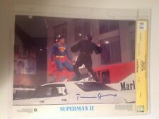 CGC 9.8 SS Superman II 2 Lobby Card General Zod signed Terence Stamp 1980 11x14
