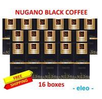 16 Nugano Premium Black Coffee Dairy Free with Ganoderma Extract Expire 04/2021