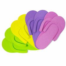 12Pairs Foam Disposable Pedicure Travel Slippers Women Ran QA Flops Men Fli W5Z0