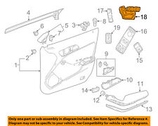 MERCEDES OEM 15-16 CLA250 Front Door-Seat Switch Right 2469057103
