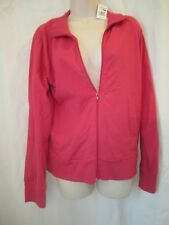 WOMEN'S SIZE XL FINL365 FINISH LINE ATHLETICS FULL ZIP FUSCHIA JACKET MSRP $30