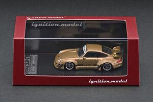 Porsche RWB 993 Matte Gold IGNITION MODEL 1/64 #IG2157