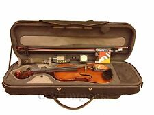 ADVANCED EBONY FIT MASTER VIOLIN SPECIAL EDITION SET 4/4 w/LOTS OF FREE GIFTS