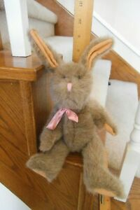 VINTAGE 1987 BOYDS FULLY JOINTED 12 INCH RABBIT FREE SHIPPING
