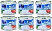 Full Cream 6 oz / 170g can by Al Maraii - Pack of 6 - المراعي قشطة كامل الدسم