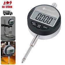 0.01/.0005'' Digital Probe Indicator Dial Test Gauge Range 0-25.4mm/1'' Gauge CA