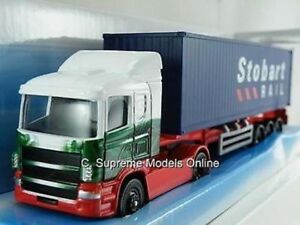 EDDIE STOBART SCANIA SKELETAL CONTAINER ARTICULATED LORRY MODEL CORGI TRUCK ^**^
