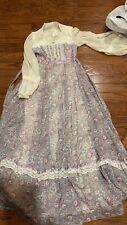 New listing Vintage Gunne Sax Jessica Decorative Print/Lace Lace 11 Hippie Bolo Prairie