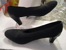 """Coach and Four 7 1/2M black pumps 2 1/4"""" heel patent detail - worn once"""
