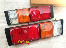 Pair Rear Tail Lights Lamp RH LH Plastic For Chevrolet LUV Chevy Pickup Mini