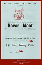 1959 Yatesbury R.A.F. Rover Moot Programme + Application Form (Boy Scouts)