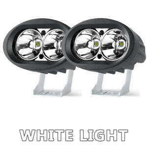 2X LED Work Light Bar Spot Pod Driving White Fog Lamp SUV Offroad ATV Motorcycle