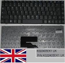 Teclado Qwerty UK Amilo V2030 V2033 V2055 V3515 Li1705 K022405EK1 Negro