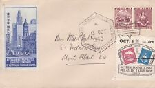 DC90) Australia 1950 ANPEX Red Brown cachet Cover