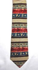 Neck Tie Egyptian METROPOLITAN MUSEUM OF ART  MultiColor Silk Canada Unisex