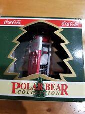 "Vintage 1994 Coca Cola Ornament Polar Bear Collection ""Vending Machine Mischief"""