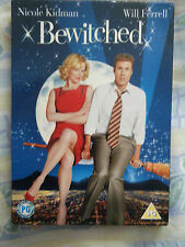 DVD – BEWITCHED - NICOLE KIDMAN, WILL FERRELL - RATED PG DISC PERFECT COMEDY