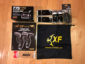 Swix XF Ultimate Glide Ski/Snowboard Tuning Kit - Vise, Wax, Edge Tuner, Iron