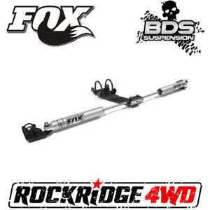 Dodge Ram 2500/3500 BDS FOX 2.0 Dual Steering Stabilizer Kit 2003-2013 4WD