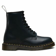 27 Dr Martens 8 Eyelet 1460 Unisex Smooth Leather BOOTS Navy UK 7 - EU 41