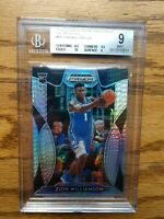 2019 Prizm Draft Picks Zion Williamson /75 HYPER PRIZM BGS 9 MINT w/ 9.5 & 10 RC